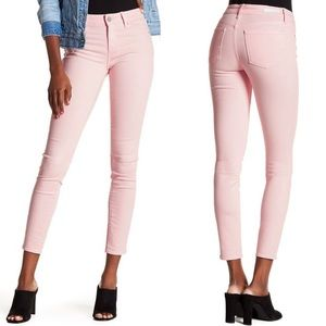 Articles of Society • Sarah Mid Rise Jeans Pink